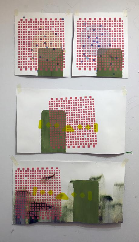 Monica Llorente: Serie Esquinas. Artist, Art