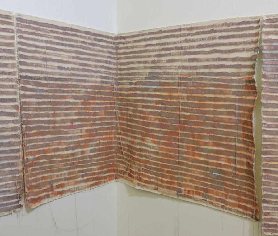 Monica Llorente: Make a choice, let it unravel. Artist, art, painting