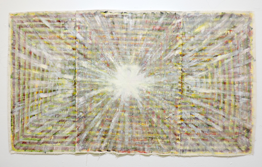 Monica Llorente: Portals. Artist, art, painting