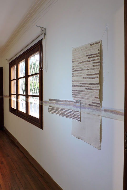 Monica Llorente: Together, apart, rearranged. Artist, art, art process