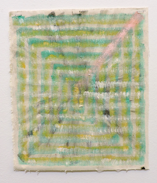 Monica Llorente: Portals Emerald Green. Artist, Art, painting